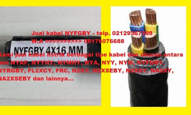 Jual kabel NYFGBY murah telp. 02129367298